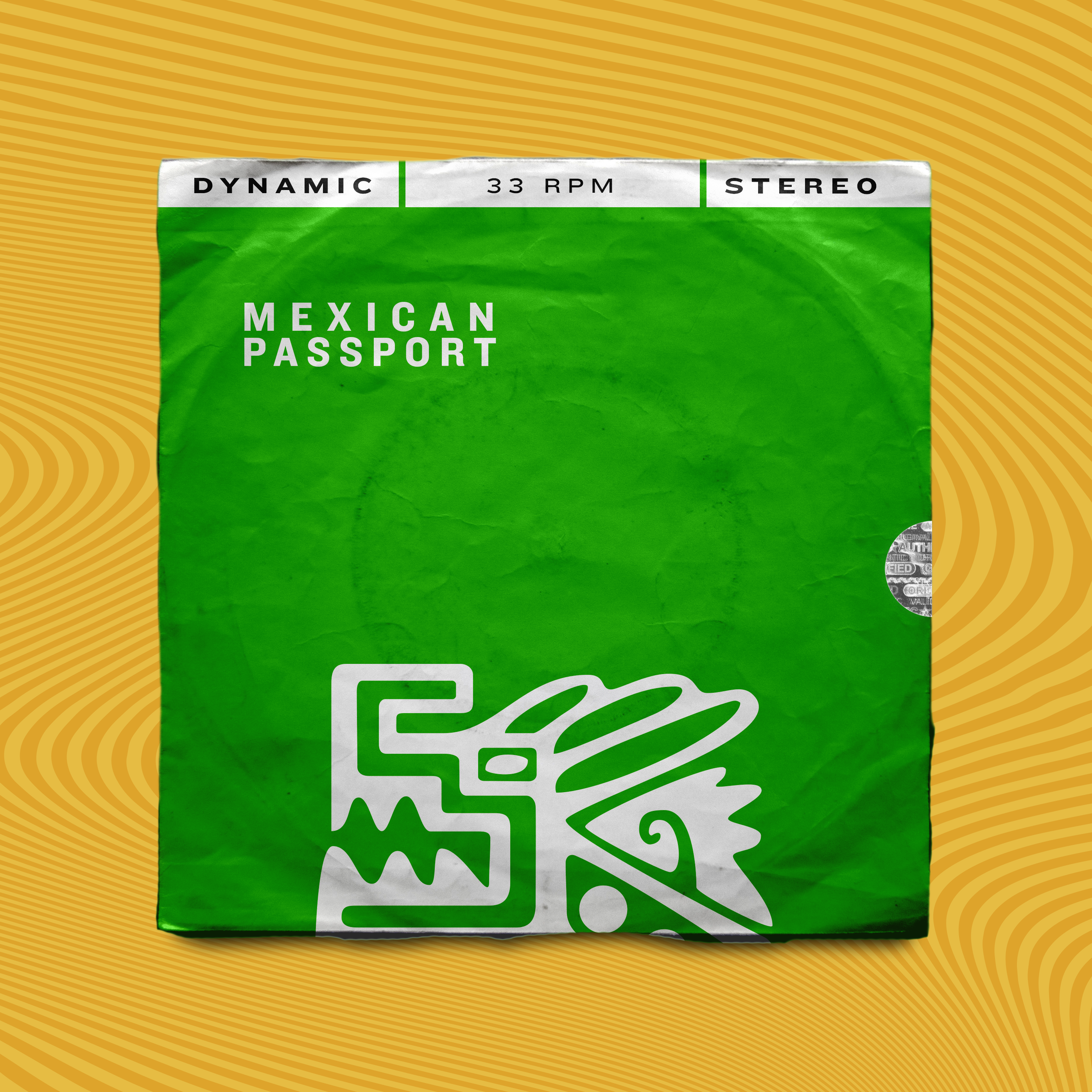 Mexican Passport: Green