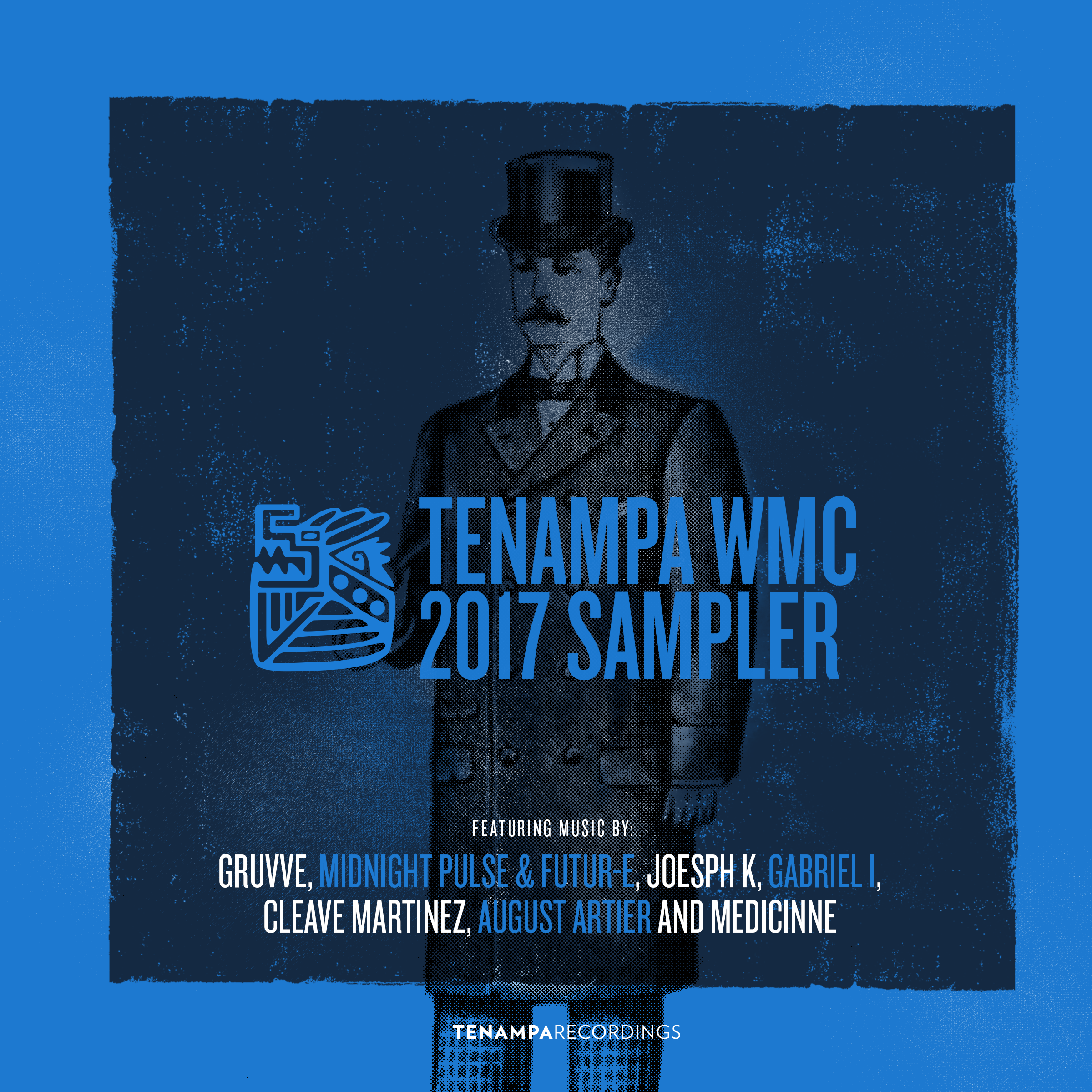 Tenampa WMC 2017 Sampler – Album Artwork